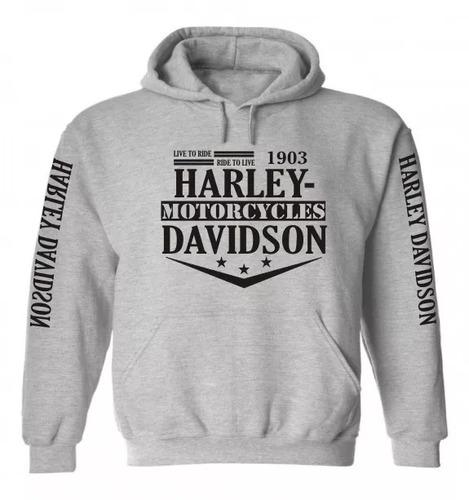 blusa moletom harley davidson moto série especial natal