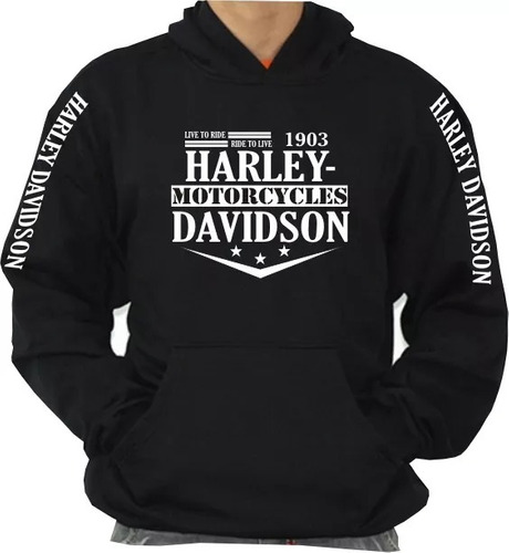 blusa moletom harley davidson moto série especial natal  top