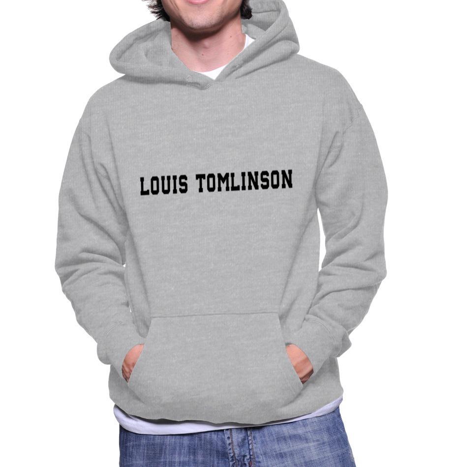 1d9f089ae9 Blusa Moletom Louis Tomlinson Casaco Moleton One Direction - R  78 ...