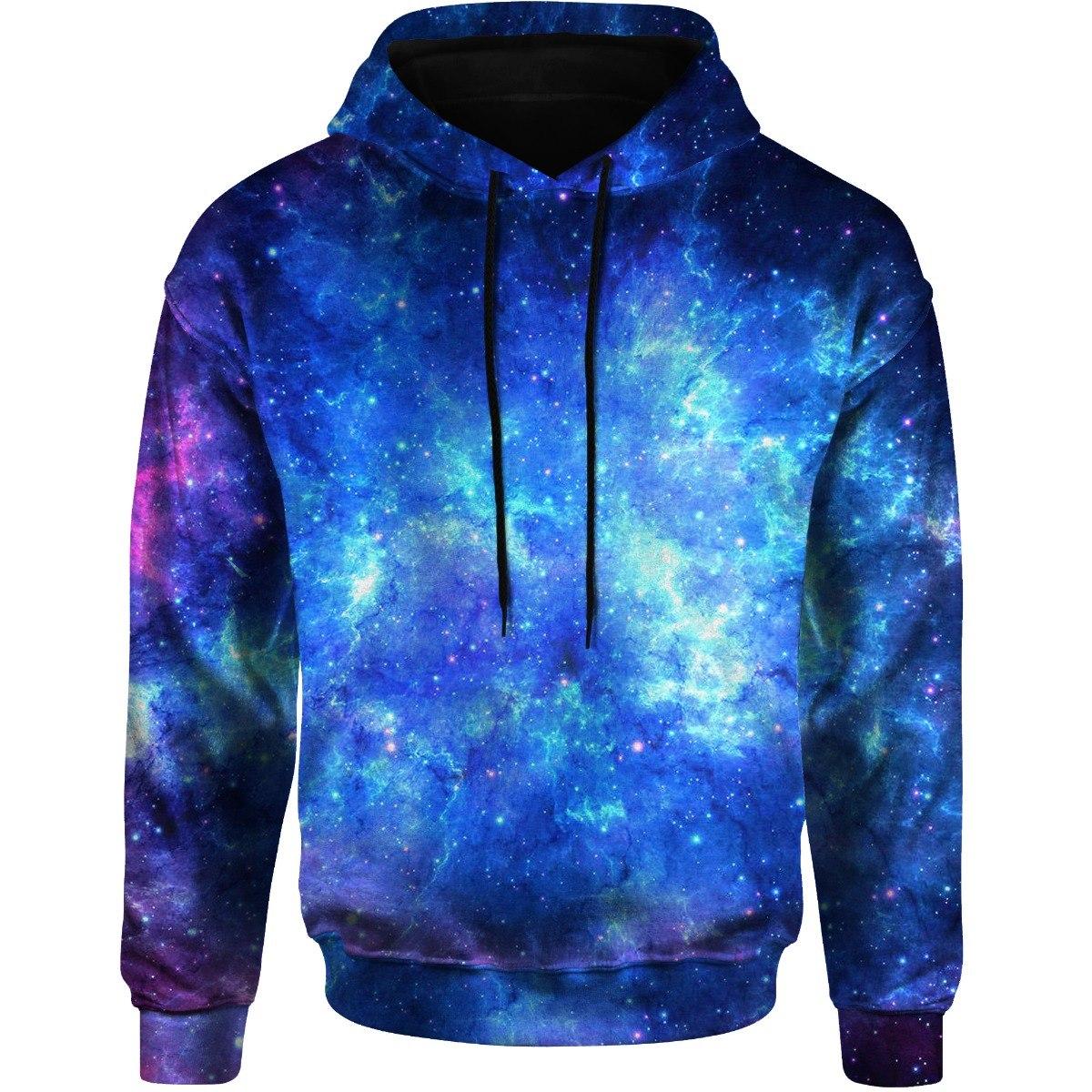 Blusa Moletom Masculina Capuz Bolso Lateral Tumblr Galaxy 3d - R ... 31c4915c2fa