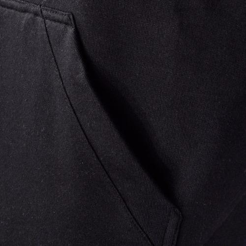 blusa moletom masculino capuz bolso canguru liso flanelado