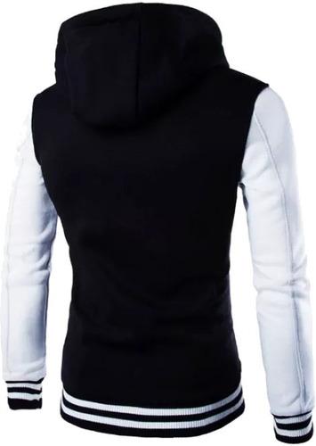 blusa moletom masculino - casaco college original vcstilo