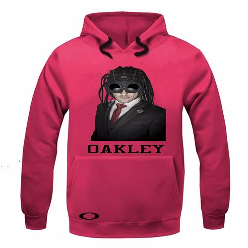 blusa moletom oakley novo modelo medusa mega promoção top!