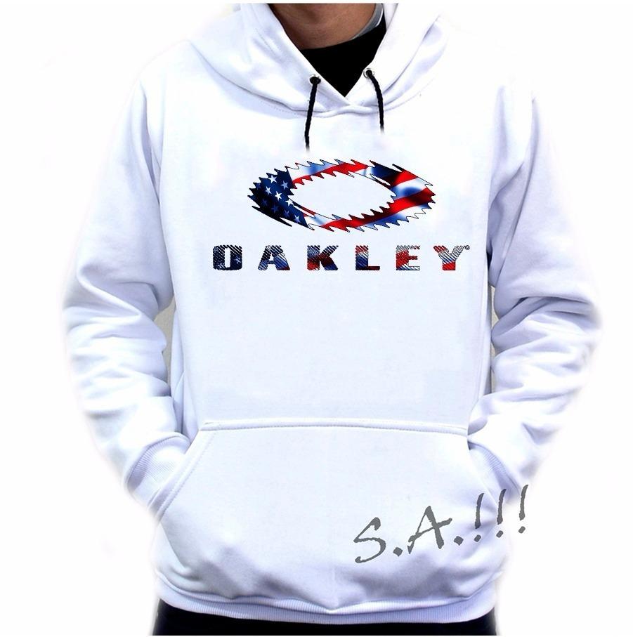 blusa moletom oakley usa casaco de frio america eua moleton. Carregando zoom . e36887e2ba8