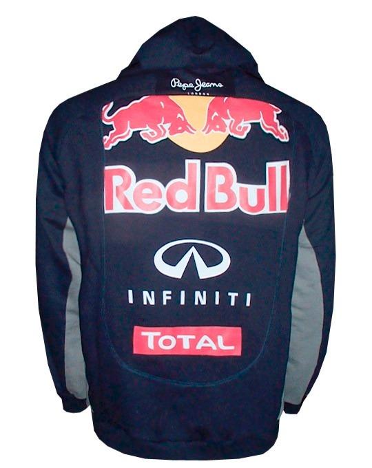 a7d5051edd532 Blusa Moletom Original Red Bull Racing Azul Marinho - R  249
