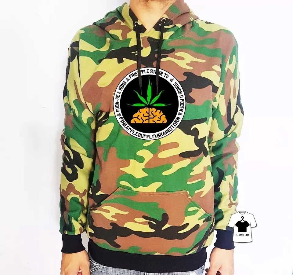 blusa moletom pineapple camuflado banda hip hop rapper off. Carregando zoom. a693b96bab