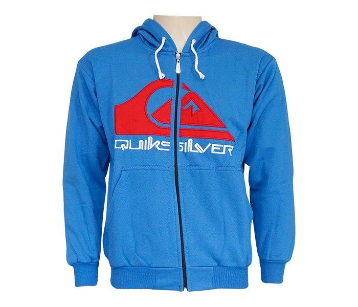 Blusa Moletom Quiksilver Azul - R  110,00 em Mercado Livre 8e87563c13