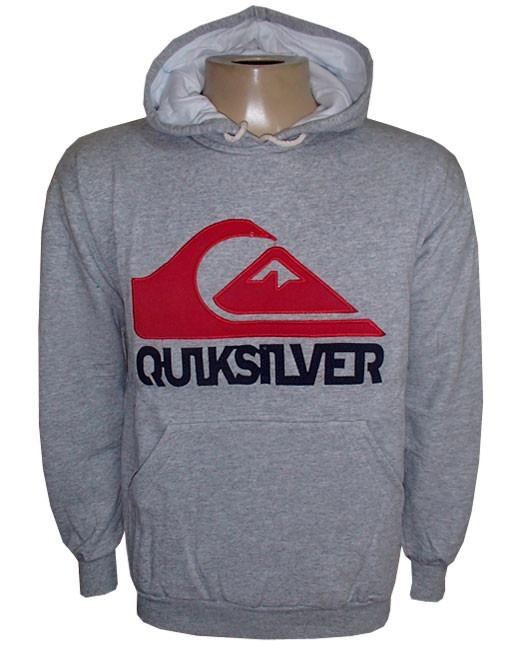 Blusa Moletom Quiksilver Azul Royal Canguru Qs - R  99,99 em Mercado ... e7a2ed0c74