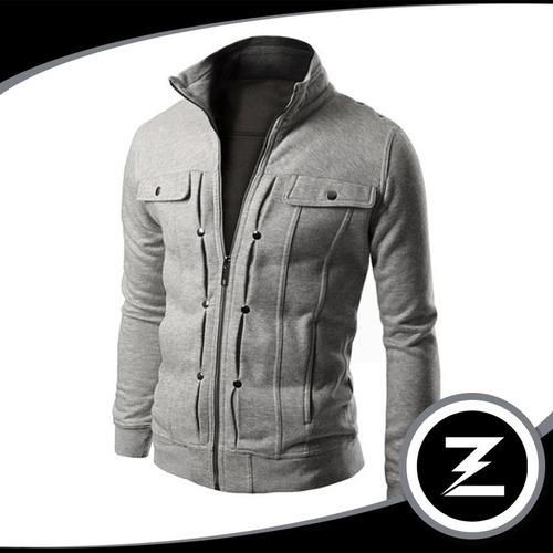 blusa moletom slim bl001 jaqueta casaco moleton