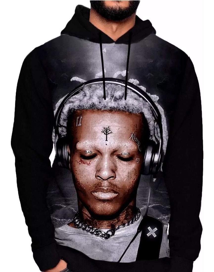 Blusa Moletom Xxxtentacion Jahseh Dwayne Rapper Look At Me 1