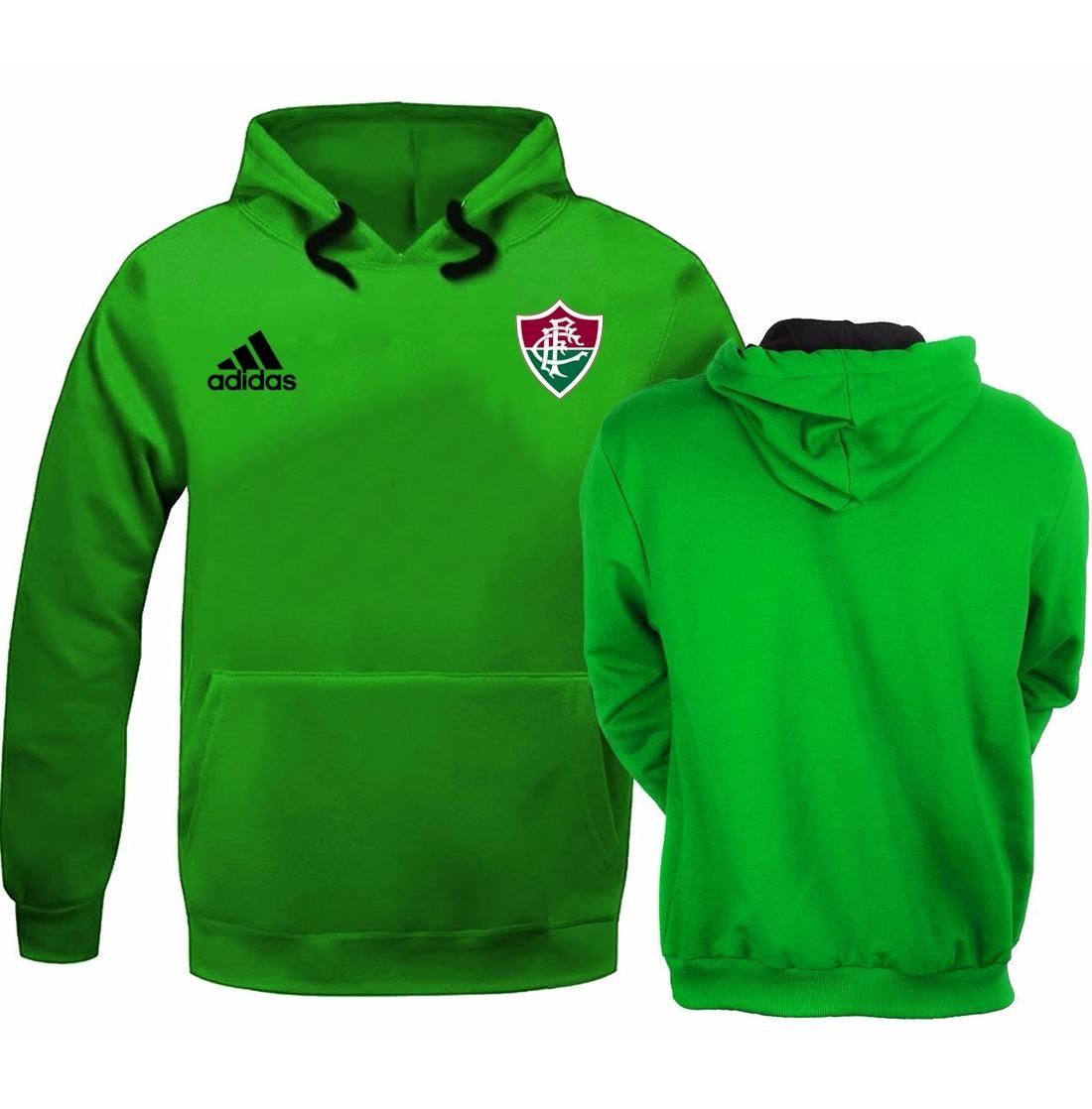 blusa moleton casaco fluminense futebol frete gratis. Carregando zoom. 43f70da2d7350