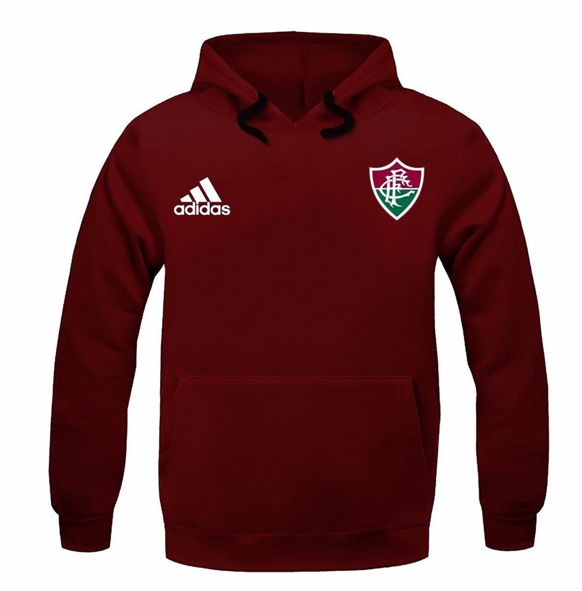 blusa moleton casaco fluminense futebol time tricolor. Carregando zoom. 20aaabd0fc02f