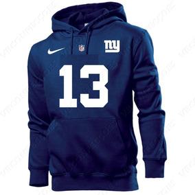 648f1bd9f3d290 Blusa Moleton Casaco New York Giants 13 Odell Estampado