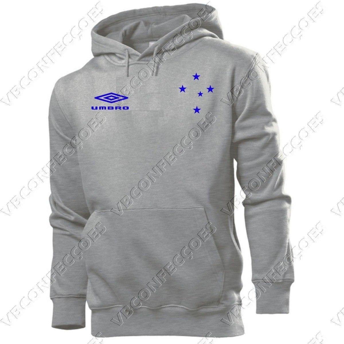 e7952e85ab blusa moleton cruzeiro futebol 100% algodão customizada. Carregando zoom.