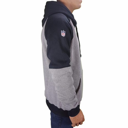 blusa moleton new era raiders duo original nota fiscal