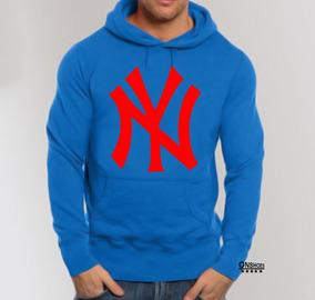 8992a7272b99f1 Blusa Moleton New York Ny 100% Algodão