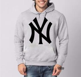 c7a812c358287f Blusa Moleton New York Yankees Ny Pronta Entrega