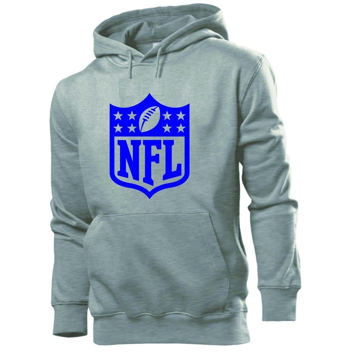 blusa moleton nfl canguru - futebol americano 100% algodão. Carregando zoom. ab015daa9e871