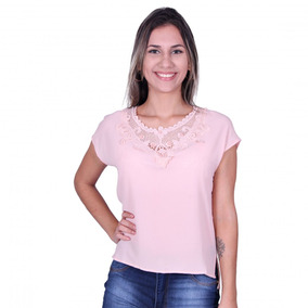 5edfcaf57b Ms Fashion - Camisetas e Blusas no Mercado Livre Brasil