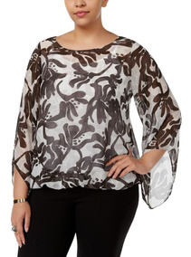 1c6def6fd Blusa Mujer, Camisola 1x Ropa Mujer Talles Grandes Curvy