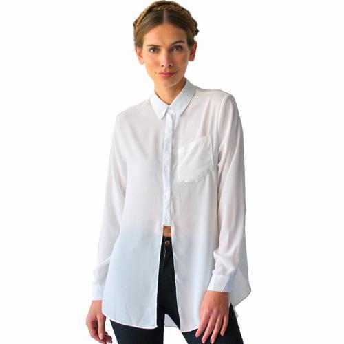 blusa mujer manga larga
