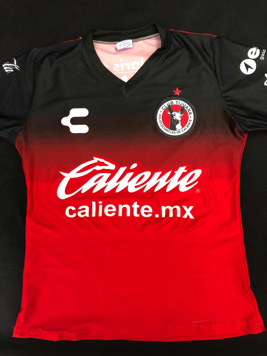 blusa mujer playera jersey xolos tijuana 2018 local mediana. Cargando zoom. 81f0fb8b60f82