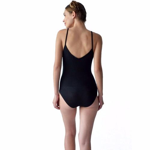 blusa mujer tipo body dama negro con barbas rack & pack