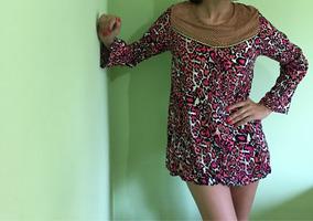 60b304fdc Blusa Mujer Vestido Camisola Hippie Invox Dama Moda Diseño