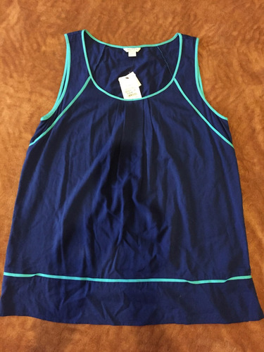 blusa nautica dama (talla l)
