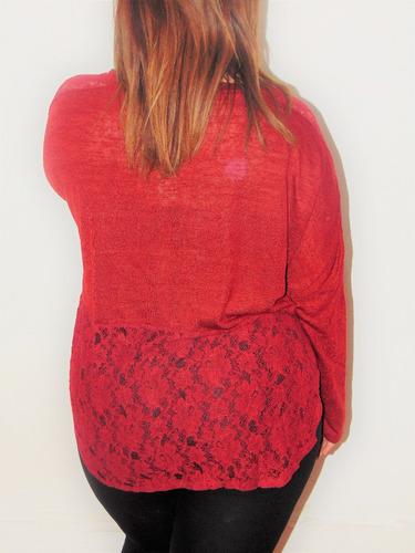 blusa o sueter manga larga talla extra, 40,42
