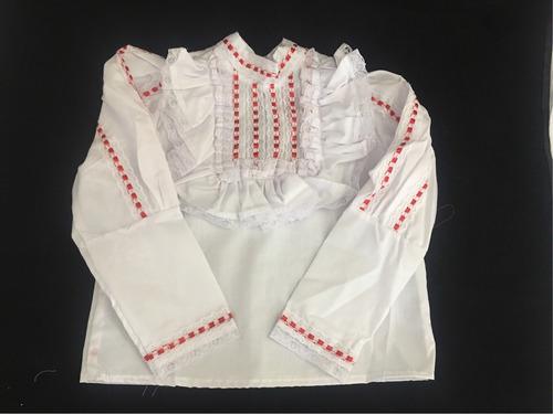 blusa para adelita revolucionaria 20 de noviembre vestuario