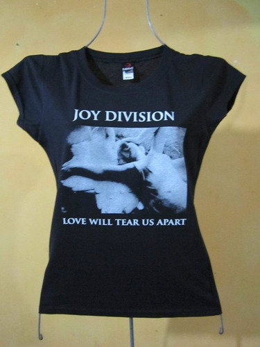 blusa para dama de joy division ...love will this a part