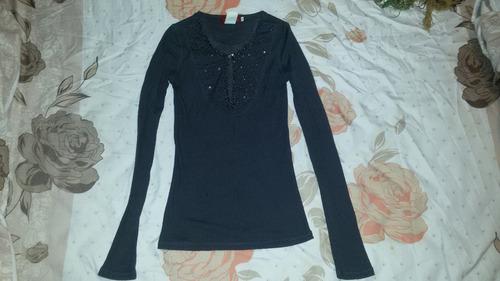 blusa para dama manga larga talla s