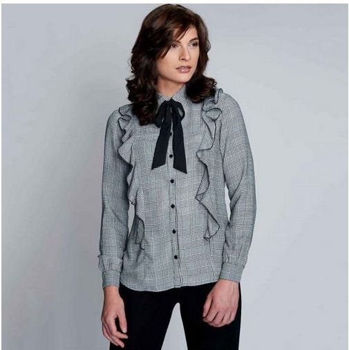 6e8f7a08c Blusa Para Dama Yaeli Fashion Negro  Blanco 182060 Pd.18.jm ...