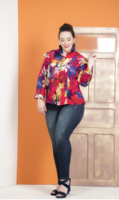 43204e3fe Blusa Para Goditas Balconette Plus Camisas Ropa Gordas