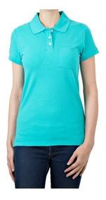 materiales de alta calidad Nuevos objetos aliexpress Blusa Para Mujer. Tipo Polo, Color Verde, Varias Tallas.
