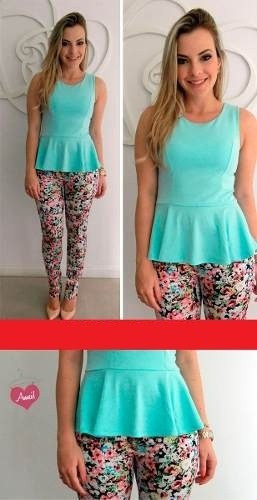 blusa peplum diseñosextrem2013
