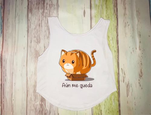 blusa personalizadas gato chrismont