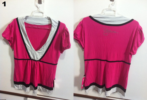 blusa pink modelos diversos com etiqueta