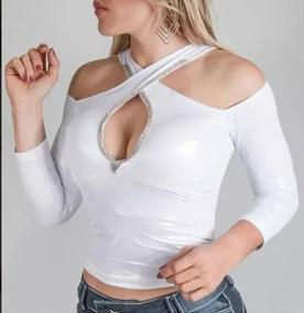 50955de6eb Blusa Branca Pit Bull - Calçados