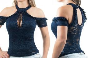 e45d83ac0d Blusa Pit Bull Jeans Com Bojo - Blusas Feminino no Mercado Livre Brasil
