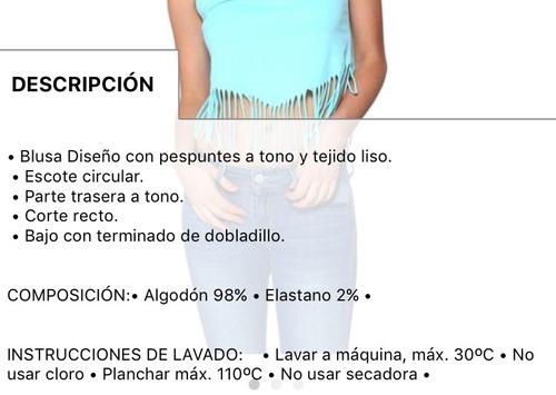 blusa playera con flecos sexy jeans playa verano casual