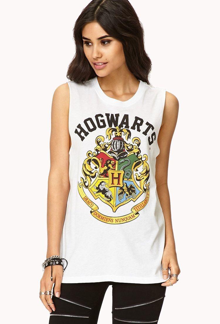 cc2ed65aef0b9 Blusa Playera Harry Potter Hogwarts Muscle Tee -   299.00 en Mercado ...