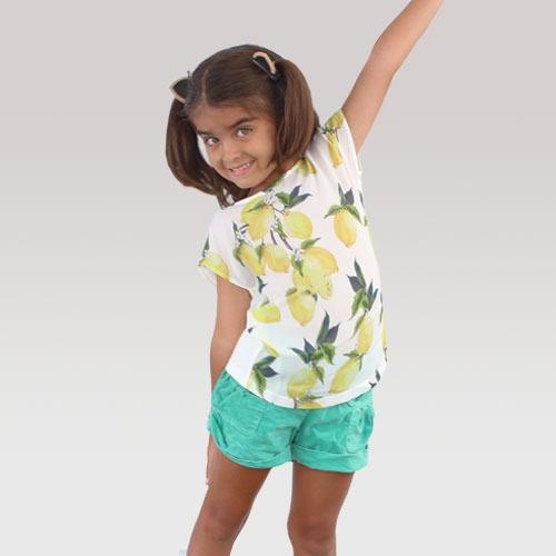 blusa playera para niña envio gratis