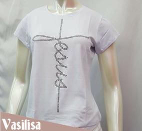 4f889c12fd Blusa Branca Reveillon - Blusas Feminino no Mercado Livre Brasil