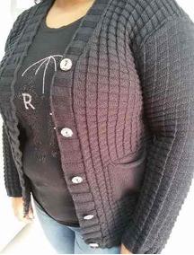 f224942e428e Blusas De Lã Plus Size - Calçados, Roupas e Bolsas com o Melhores ...