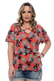 8c385b580ddf Blusa Strappy - Camisetas e Blusas Femininas com o Melhores Preços no  Mercado Livre Brasil