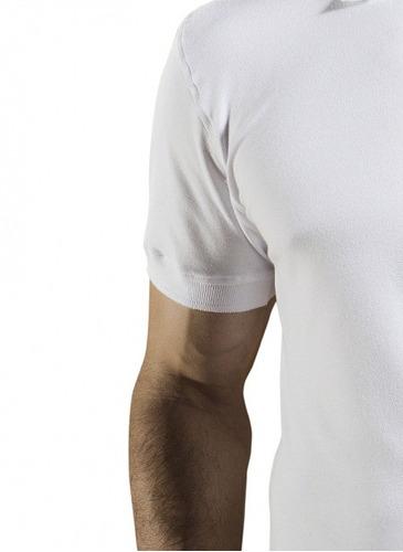 blusa pólo branca masculina buon giorno henri