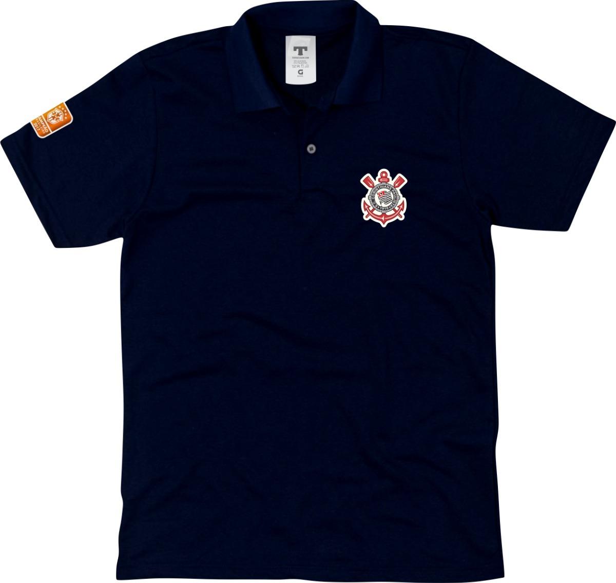 blusa polo corinthians camisa gola polo torcedor do timão. Carregando zoom. e09fa5b87d896