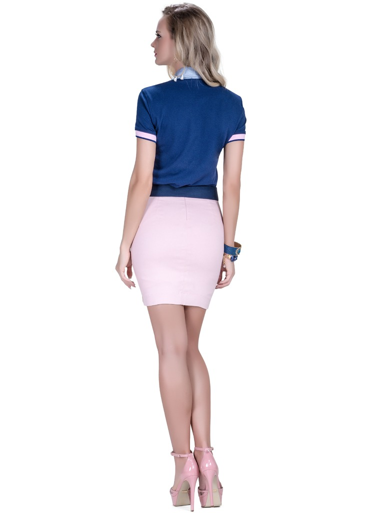 2eb1859d35 blusa pólo feminina azul marinho principessa nicole. Carregando zoom.